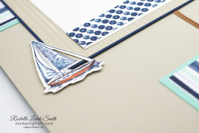 Ink & Share Scrapbook Blog Hop, March 2021, Marine, Masculine, Male, Sea, Sailing Home, Stampin' Up!, SU, Scrapbook Layout, Memory Kepping, Scrapbooking, Yacht, sailing boat