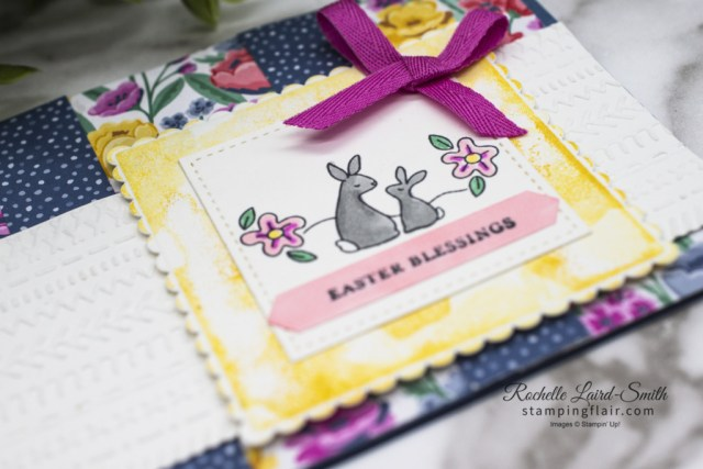 Stampers Showcase Blog Hop, Spring,  Easter, Bunny, Oval Occasions, Flowers for Every Season DSP, Creative Ways with Scrap DSP, Stampin' Up!, SU, Card, layout