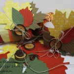 Handmade Napkin Rings Stamping Imperfection
