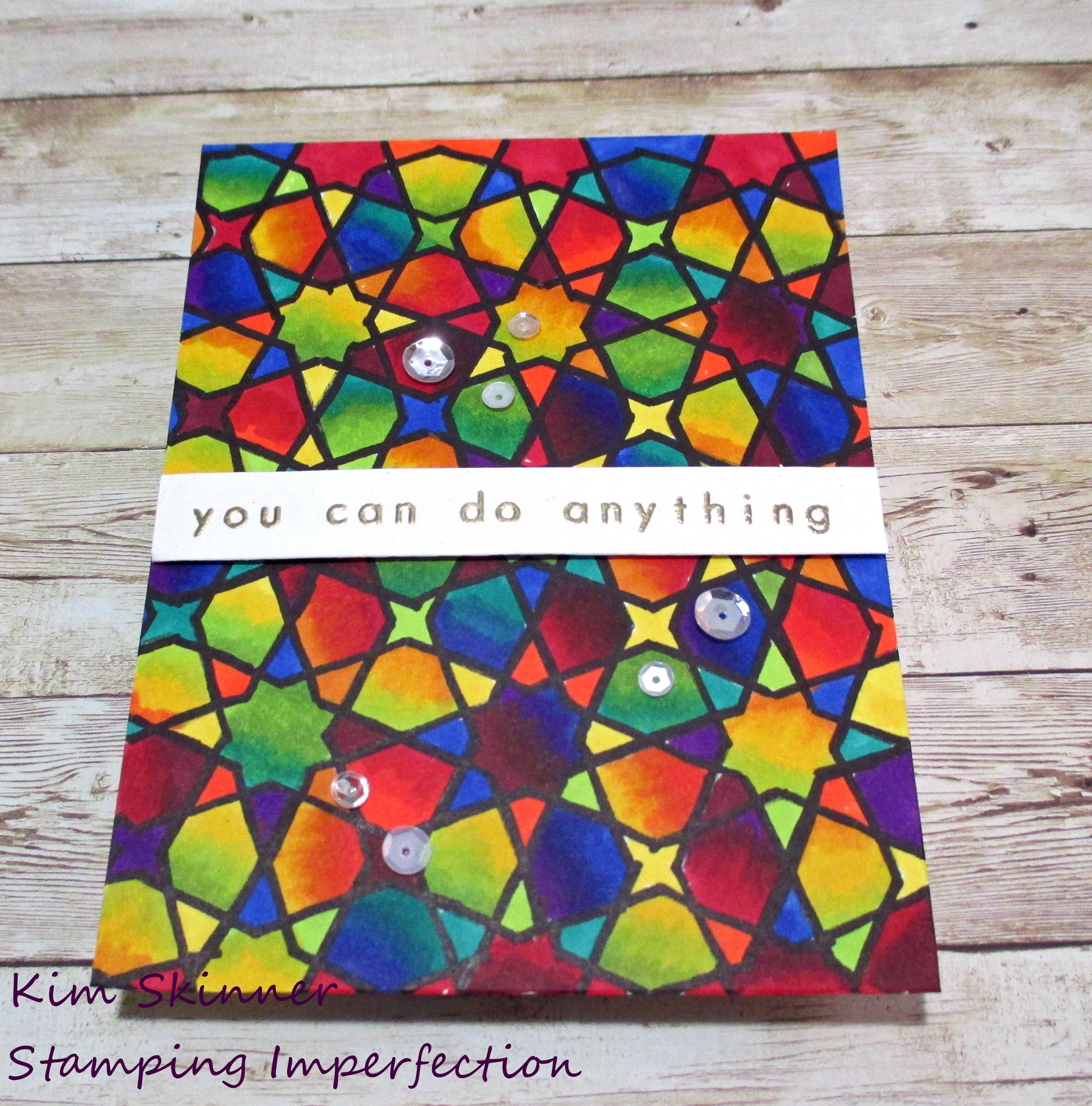 Color Blending Practice Card