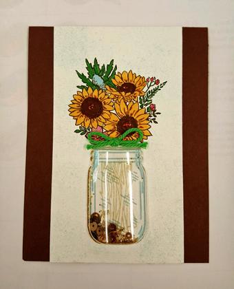 Jar of Flowers - Dianne