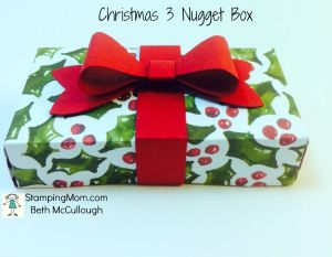 Christmas 3 Nugget Box
