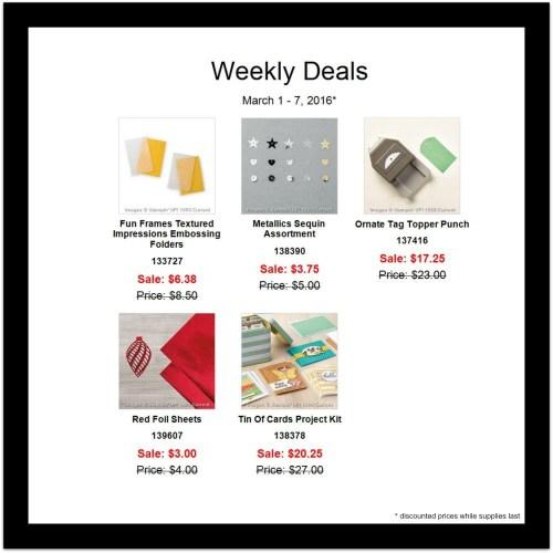 weekly deals Mar 1