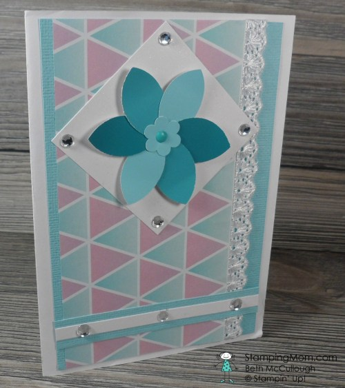 I received this birthday card from Ruth. See more card and gift ideas at www.StampingMom.com #StampingMom