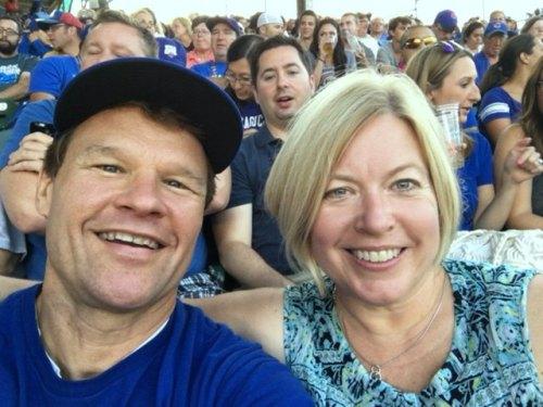 Steve & Beth Cubs August 2016