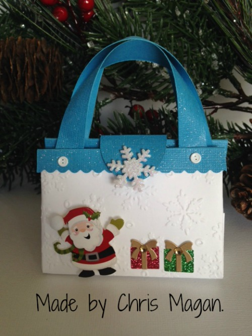 Christmas Purse made by Chris Magan.