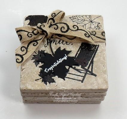 Seasons Coasters made by Jari Francis.