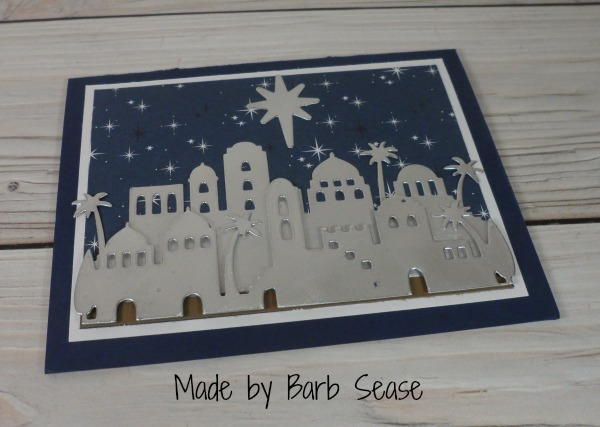 Stampin Up Christmas card made by Barb Sease. Please see more card and gift ideas at www.StampingMom.com #StampingMom #cute&simple4u