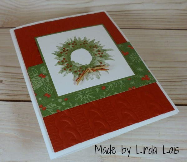 Stampin Up card made by Linda Lais. Please see more card and gift ideas at www.StampingMom.com #StampingMom #cute&simple4u