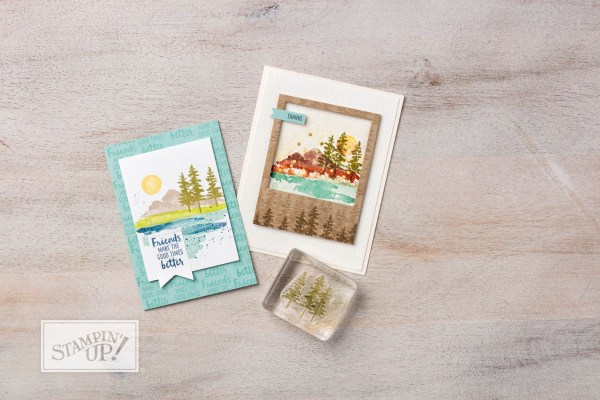 Stampin Up Waterfront Stamp set. Please see more card and gift ideas at www.StampingMom.com #StampingMom #cute&simple4u