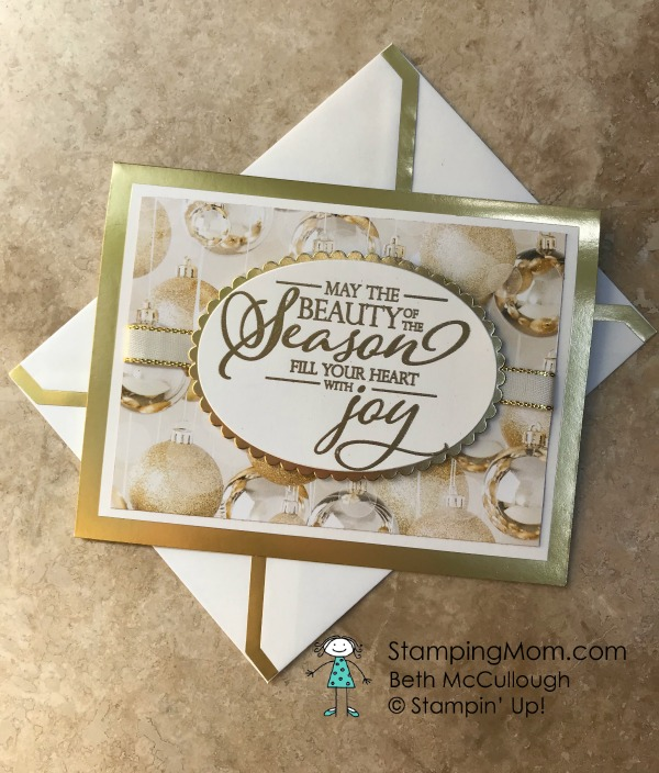 Stamping Mom Beth Mccullough Independent Stampin Up Demonstrator