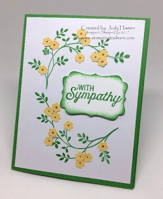 Stampin' Up! Thoughts and Prayers, Flourishing Flourishes, Stamping to Share
