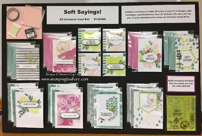 Soft Sayings All Inclusive Card Kit by Stampin' Up! Created by Kay Kalthoff with Stamping to Share.