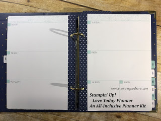 Love Today Planner by Stampin' Up!