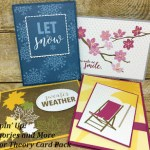 Color Theory Cards from the Stampin