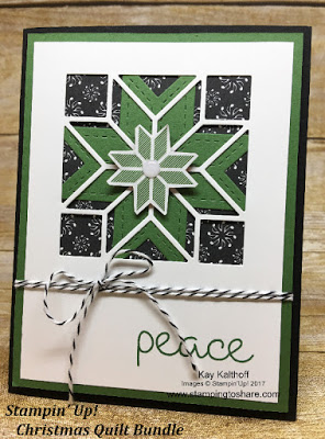 Stampin' Up! Christmas Quilt Bundle with How To Video