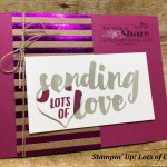 How to Make Two Cards with the Stampin