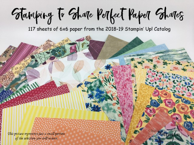 2018-19 Annual Catalog Perfect Paper Shares by Kay Kalthoff, Annual Catalog Product Shares for #stampingtoshare