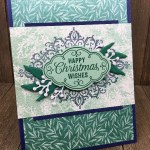 How to Make a Christmas card with Stampin