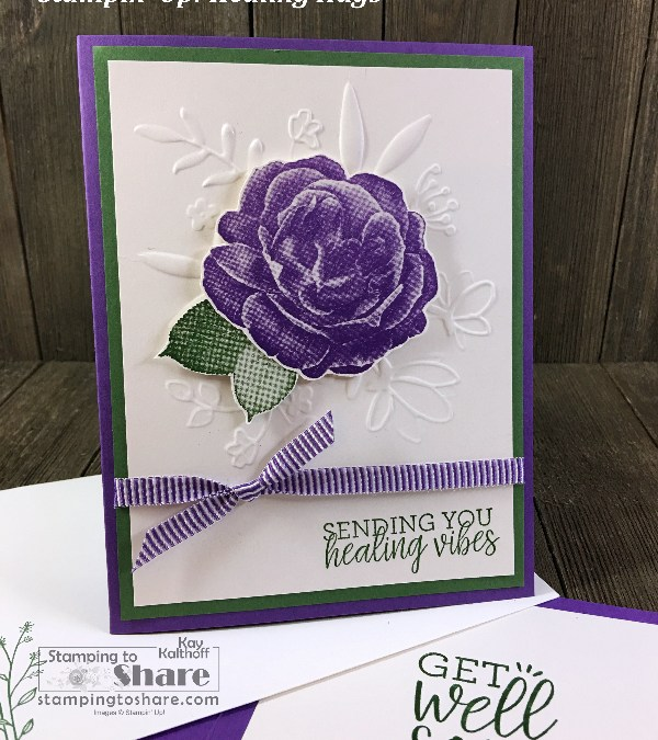 How to Make Get Well Cards with Stampin' Up! Healing Hugs