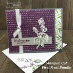 First Frost Bundle with Frosted Floral Designer Series Paper created by Kay Kalthoff for #stampingtoshare