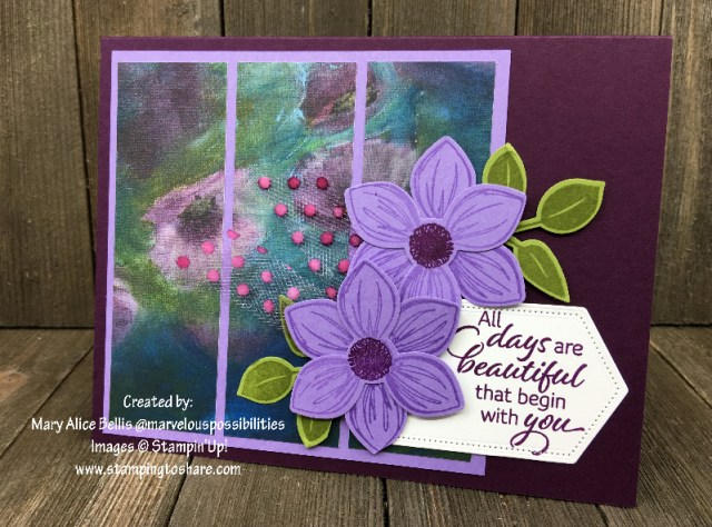 Perennial Essence DSP and Floral Essence by Mary Alice Bellis