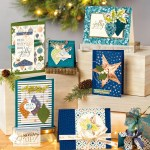 Brightly Gleaming by Stampin