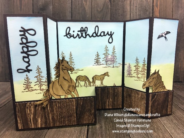 Stampin' Up! Let It Right by Diana Wilson Part Two