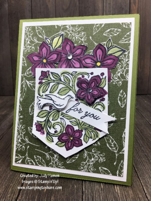 Stampin' Up! Pocketful of Happiness by Judy Hamen