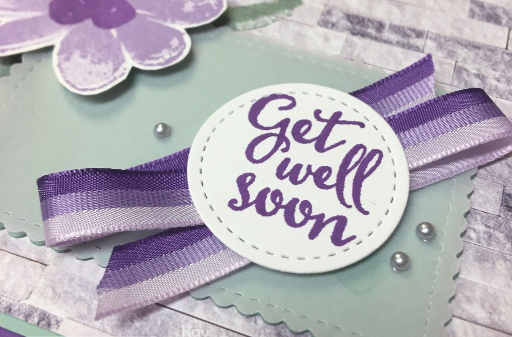 See the Gorgeous Posies Unboxing Plus a Pretty Get Well Card