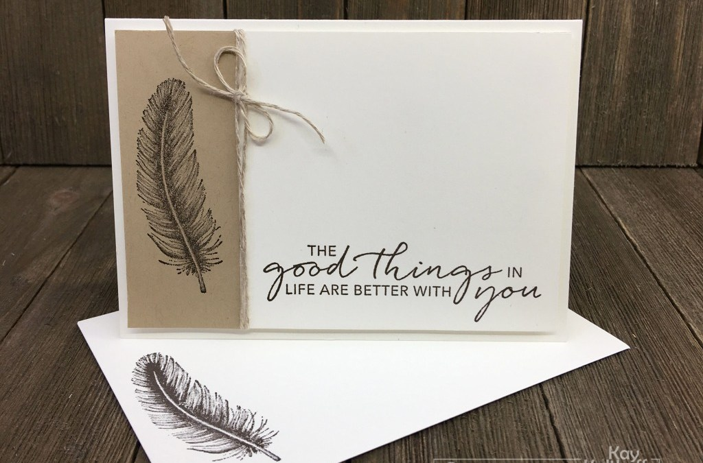 How to Make Easy and Elegant Cards with Tasteful Touches