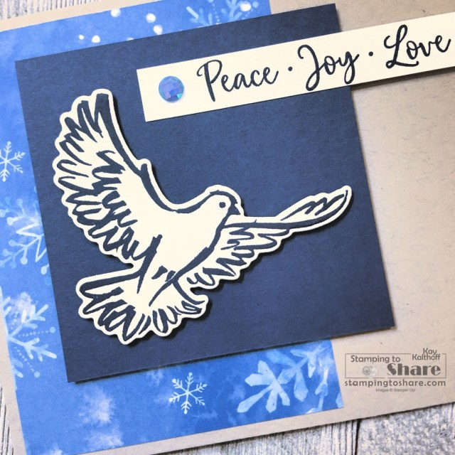Stampin' Up! Dove of Hope Christmas Card