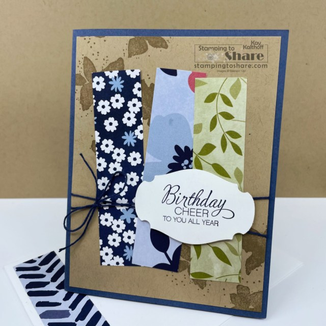 Scraps from Paper Blooms for Whimsical cards by Kay Kalthoff at Stamping to Share