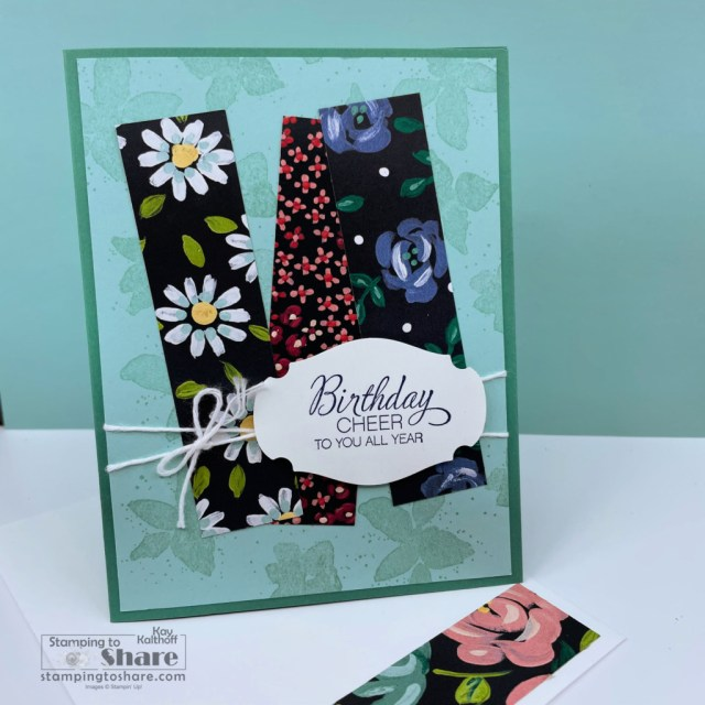 Scraps from Flower & Field for Whimsical cards by Kay Kalthoff at Stamping to Share