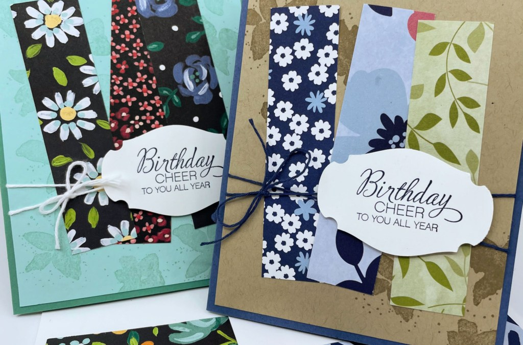 How to Make Whimsical Cards with Paper Scraps