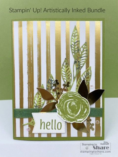 Artistically Inked Bundle with Expressions in Ink Specialty DSP by Kay Kalthoff with Stamping to Share