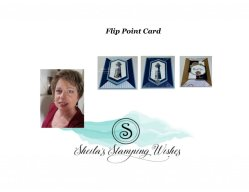 Double Flip Point Card using Sail Away
