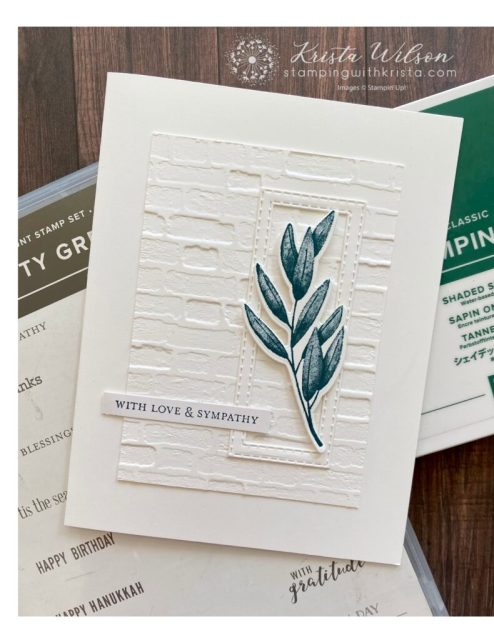 This card is monochromatic and features only the color Shaded Spruce.