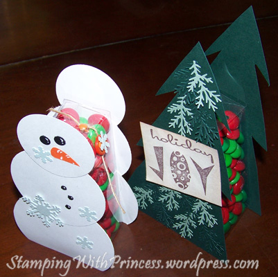 Homemade Christmas Cards and Gifts | Stamping With Princess