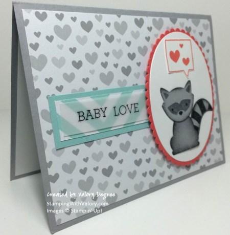 Foxy Friends Baby Love side