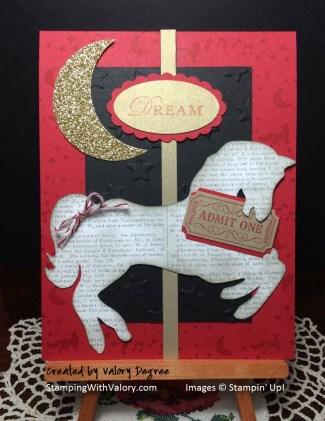 Midnight Circus Template Card