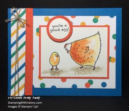 SAB Chicken Card Swap