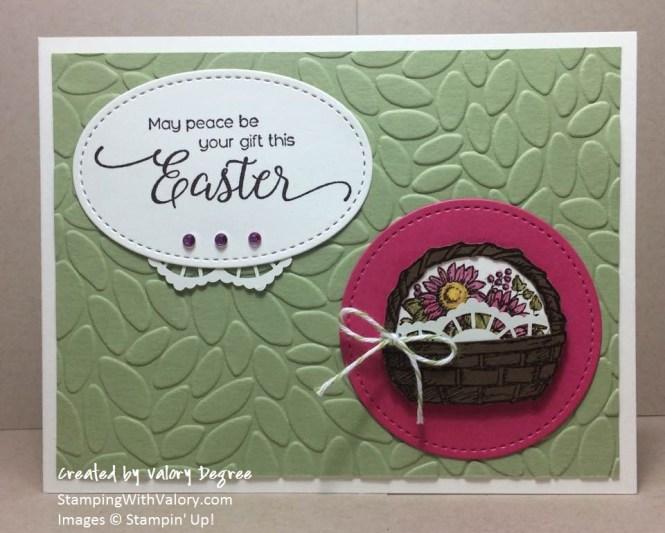 Easter Basket Green