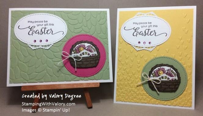 Easter Basket Pair