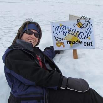Kathy on Lake Champlain