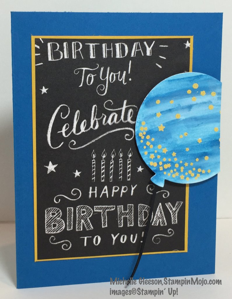 StampinMojo, SU Celebrate Today, PPA 281, Birthday card