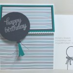 Masculine Birthday Card for Sunday Stamps