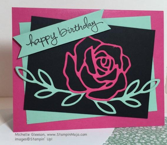 StampinMojo, Rose Garden Thinlits, PPA283