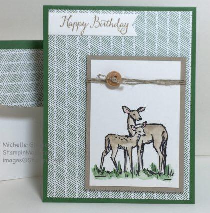 Masculine Birthday, StampinMojo, Michelle Gleeson