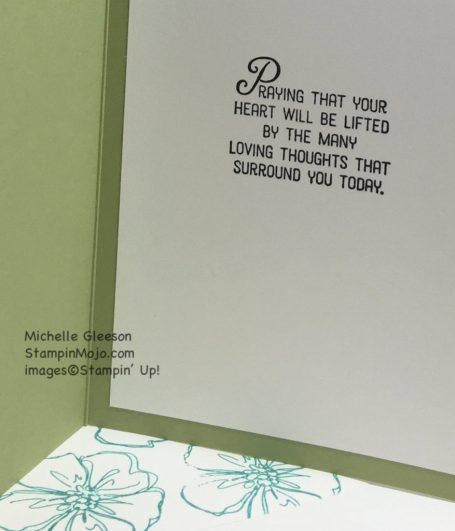 Flourishing Phrases, StampinMojo, Sympathy card